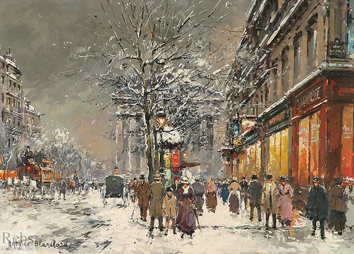 Rue Royal Madeleine 6 By Antoine Blanchard