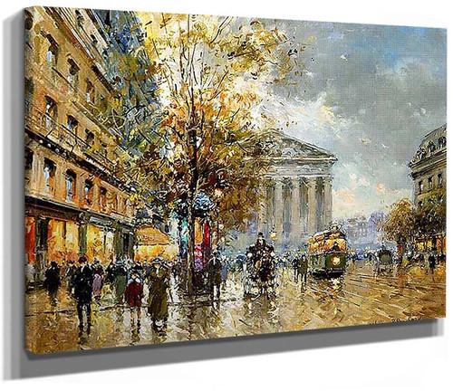 Rue Royal Madeleine By Antoine Blanchard