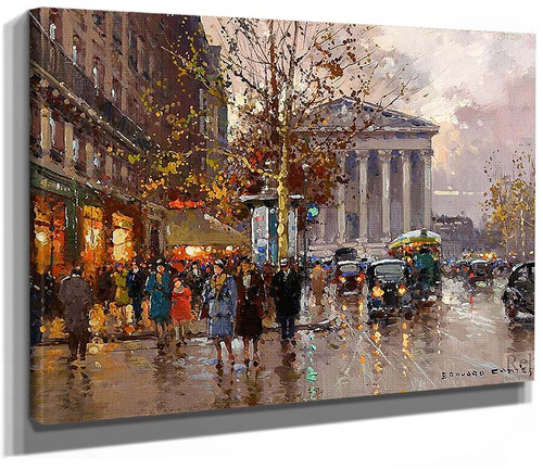 Rue Royale Madeleine 1 By Edouard Cortes