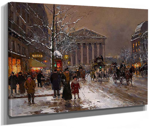 Rue Royale By Edouard Cortes