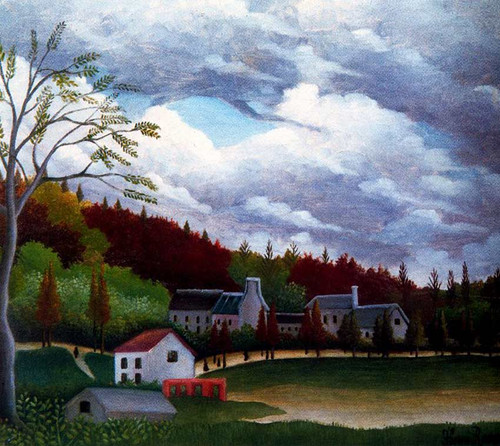 The Bievre At Gentilly 1895 By Henri Rousseau Art Reproduction from Wanford.
