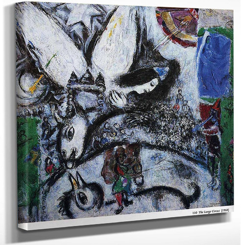 The Big Circus 1968 By Marc Chagall Art Reproduction from Wanford.