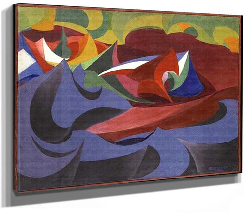 September 20 Demonstration 1915 By Giacomo Balla