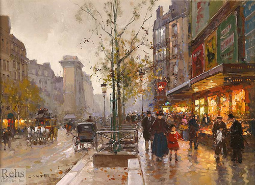St Denis 3 By Edouard Cortes