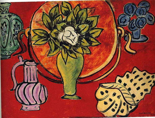 Still Life With A Magnolia 1941 By Henri Matisse