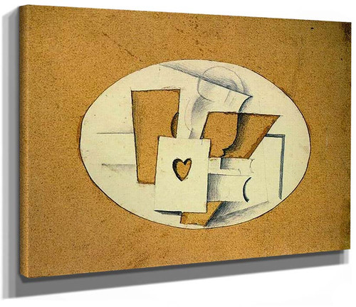 Still Life With Ace Of Hearts 1914 By Georges Braque