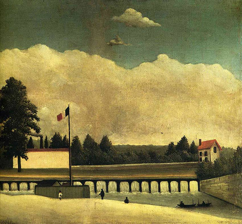 The Dam 1893 By Henri Rousseau Art Reproduction from Wanford.