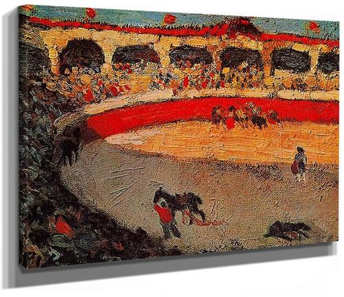 The Corrida 1901 By Pablo Picasso
