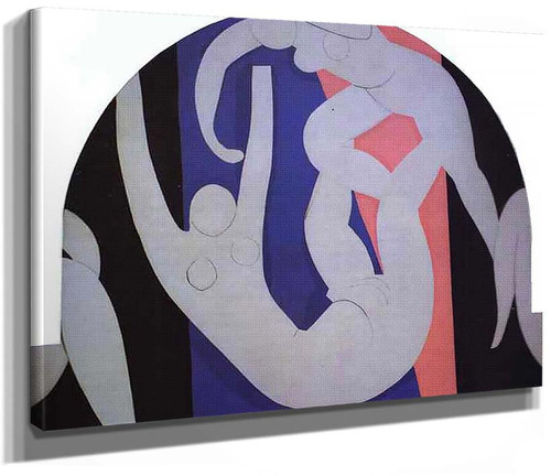 The Dance 1933 1 By Henri Matisse