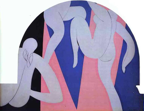 The Dance 1933 2 By Henri Matisse