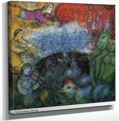 The Grand Parade 1980 By Marc Chagall Art Reproduction from Wanford.