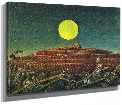 The Entire City 1935 By Max Ernst