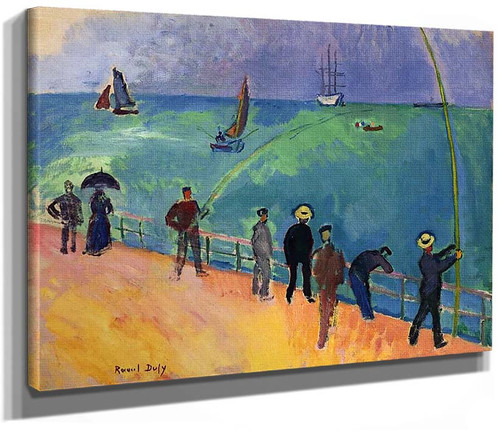 The Fishermen 1907 By Dufy Raoul