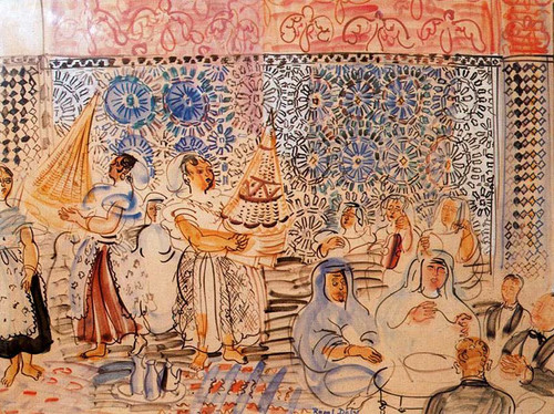 The House In Marrakech By Dufy Raoul
