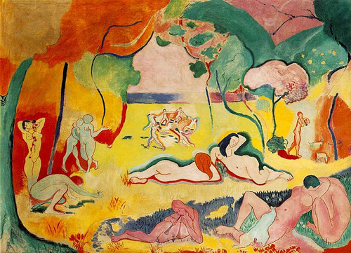 The Joy Of Life 1906 By Henri Matisse