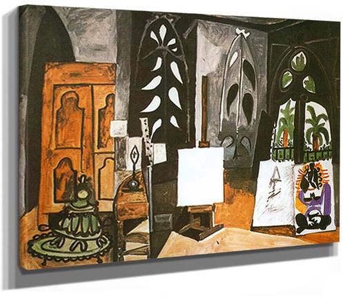 The Studio At La Californie By Pablo Picasso