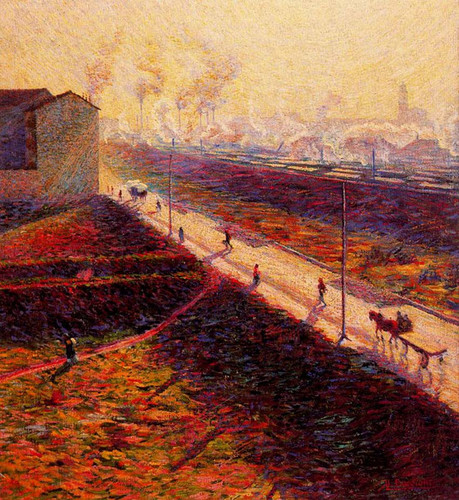 The Morning 1909 By Umberto Boccioni Art Reproduction from Wanford.