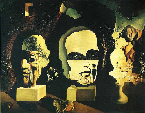 The Three Ages By Salvador Dali