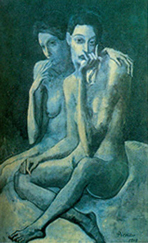 The Two Friends By Pablo Picasso