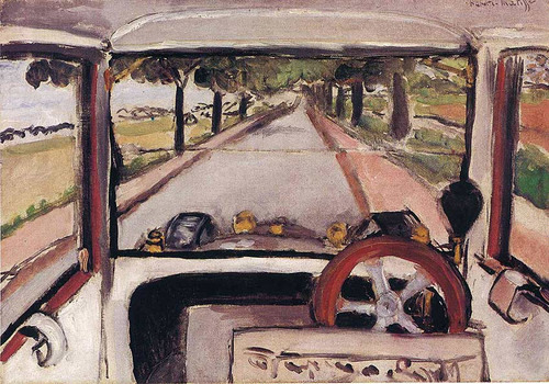 The Windshield 1917 By Henri Matisse