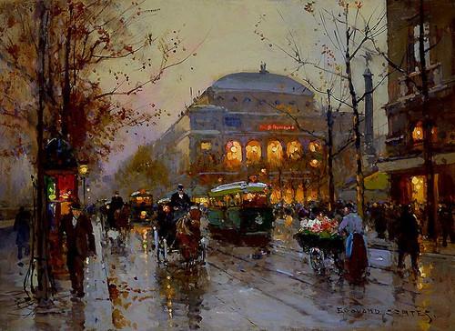 Theatre Du Chatelet 1 By Edouard Cortes
