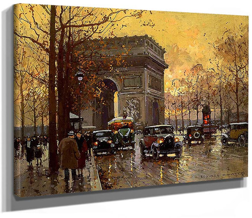 Triumphal Arch 1 By Edouard Cortes