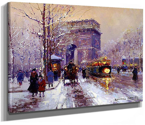 Triumphal Arch 7 By Edouard Cortes