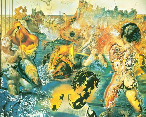 Tuna Fishing 1967 By Salvador Dali