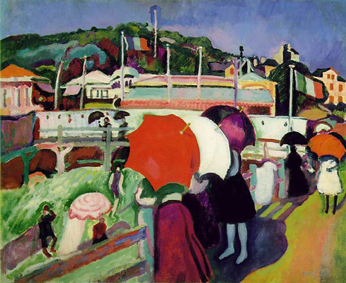 Umbrellas 1906 By Dufy Raoul