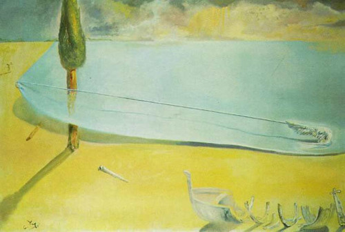 Untitled Skin Of A Beach By Salvador Dali