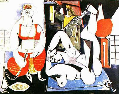 Women Of Algiers 1955 By Pablo Picasso