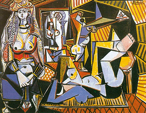 Women Of Algiers By Pablo Picasso