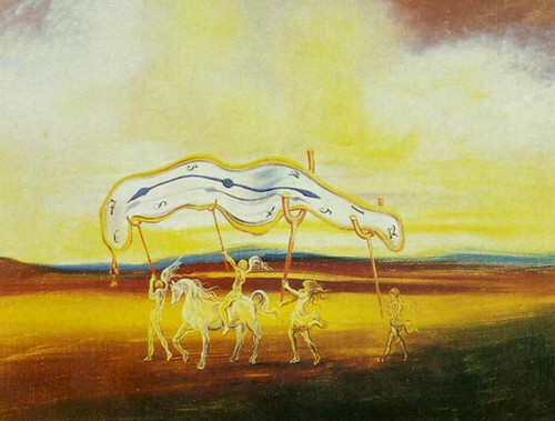 Wounded Soft Watch By Salvador Dali