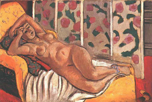 Yellow Odalisque 1926 By Henri Matisse
