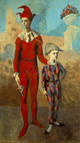 Acrobat And Young Harlequin 1905 By Pablo Picasso Art Reproduction from Wanford