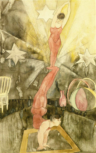 Acrobats By Charles Demuth Art Reproduction from Wanford