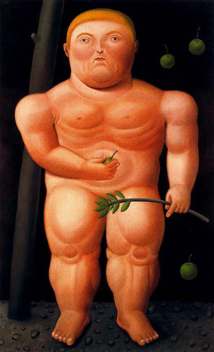 Adam Aka Adao2 By Fernando Botero Art Reproduction from Wanford