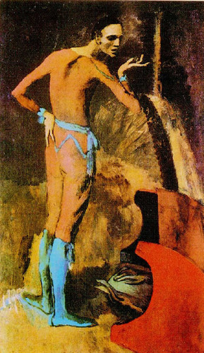 An Actor 1904 By Pablo Picasso Art Reproduction from Wanford