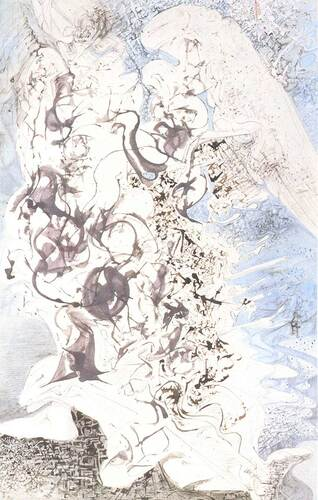 Angel By Salvador Dali Art Reproduction from Wanford