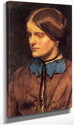 Annie Miller By John Everett Millais