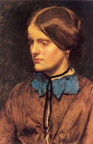 Annie Miller By John Everett Millais Art Reproduction from Wanford
