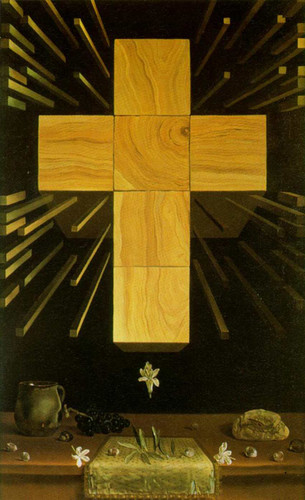 Arithmosophic Cross By Salvador Dali Art Reproduction from Wanford