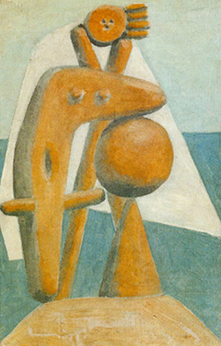 Bather By Pablo Picasso Art Reproduction from Wanford