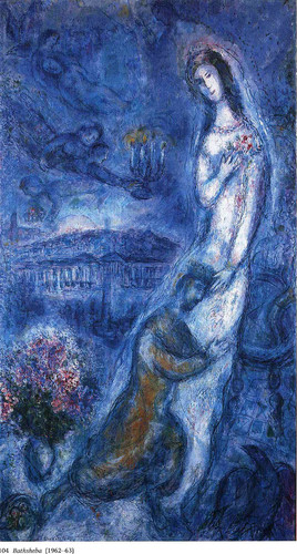 Bathsheba 1963 By Marc Chagall Art Reproduction from Wanford