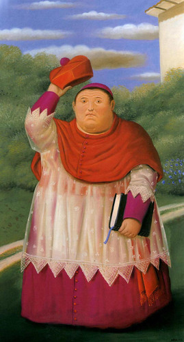 Bishop2 By Fernando Botero Art Reproduction from Wanford