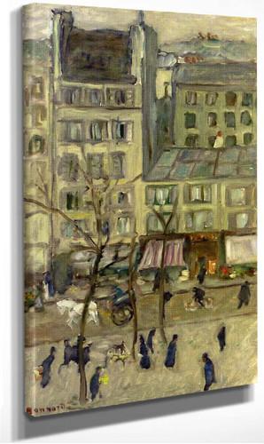 Boulevard Des Batignolles By Pierre Bonnard