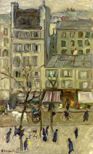 Boulevard Des Batignolles By Pierre Bonnard Art Reproduction from Wanford