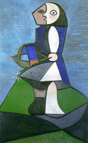 Child With Flower 1945 By Pablo Picasso Art Reproduction from Wanford