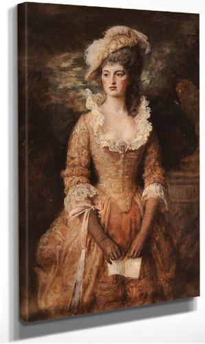 Clarissa By John Everett Millais