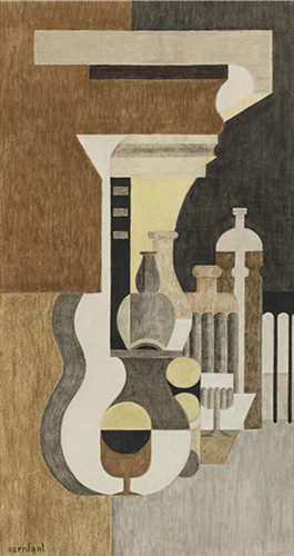 Composition Puriste 1926 By Ozenfant Amedee Art Reproduction from Wanford